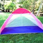 Review of Self-expanded Pop up Family Cabana Tent Wind Shelter UV Proof Beach Tent