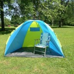 Pup Up Beach Tent – A Review of the Leberna One Touch Easy Setup Camping Tent