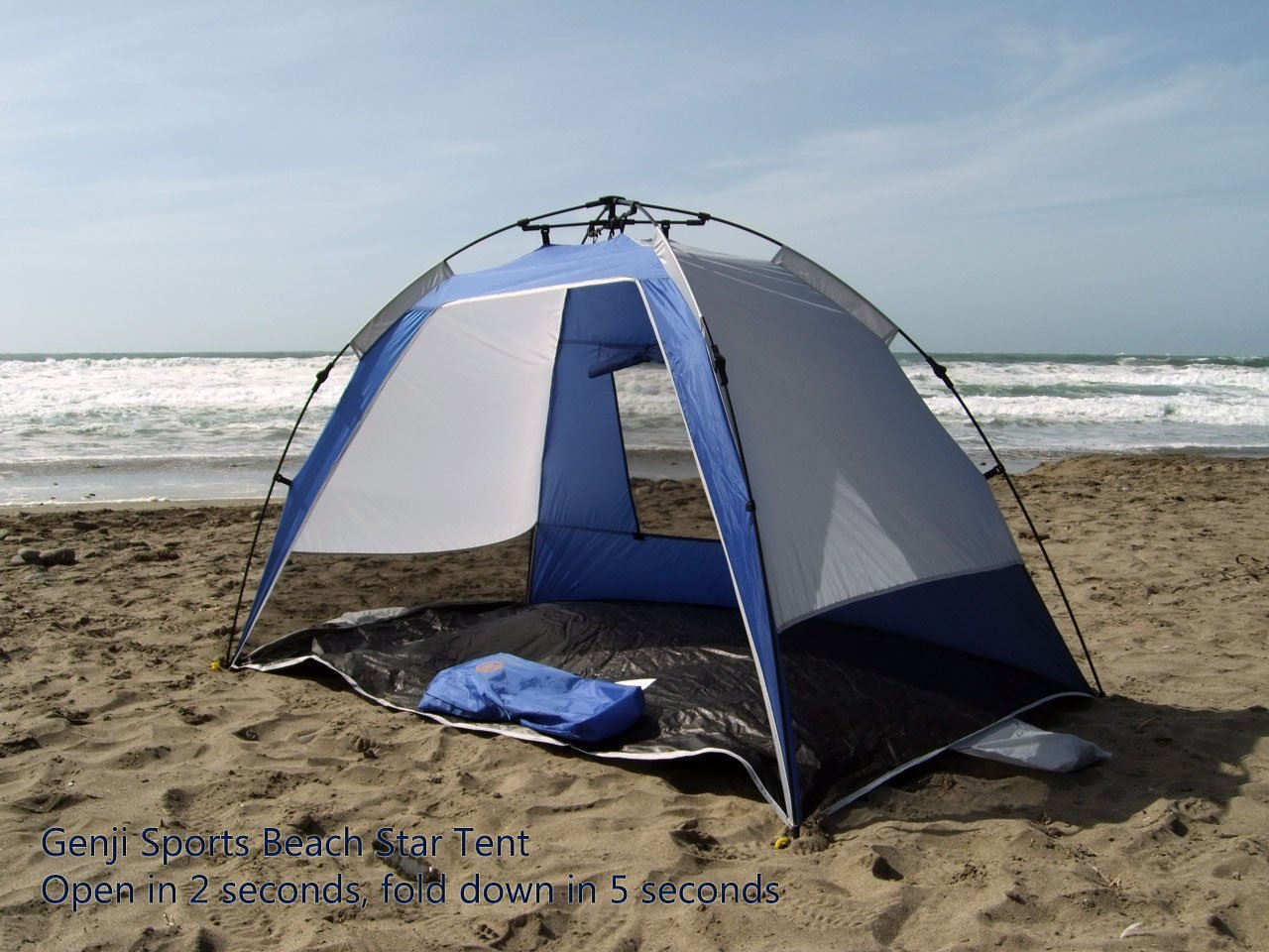 Beach Tent Size & Just How Good Is The Genji Sport Instant Beach Star?